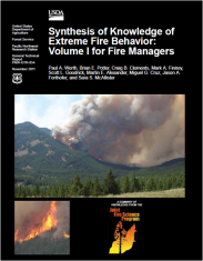 Werth, P. A., B. E. Potter, et al. (2011). Synthesis of knowledge of extreme fire behavior: volume I for fire managers. Portland, OR: 144.
